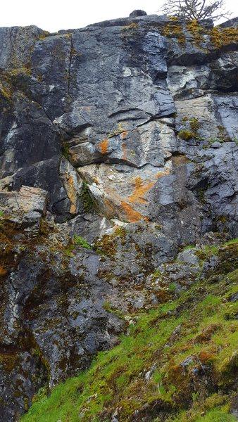 Rock Climbing Photo: Blue moon