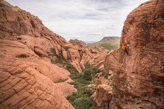 definitely a scenic climb