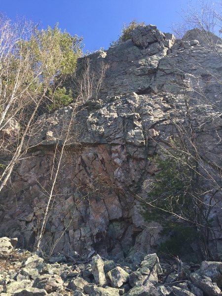 Upper Picnic Wall