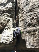 Rock Climbing Photo: Step 2: Undo invert!