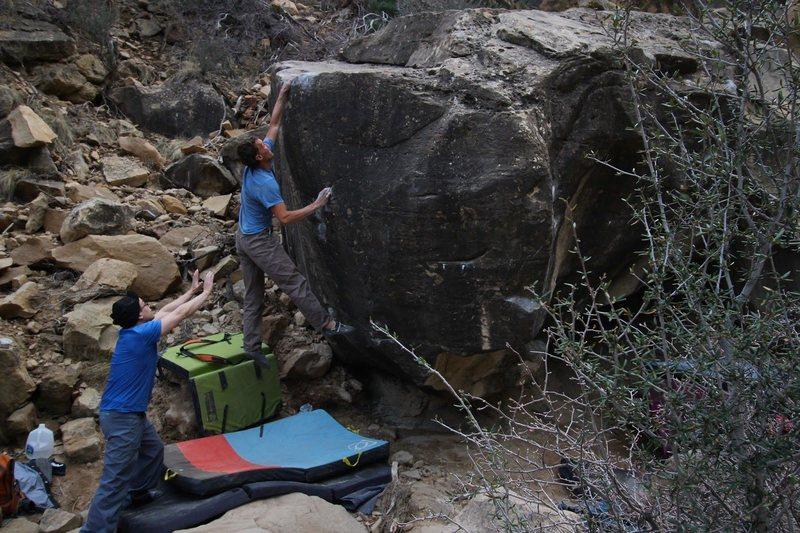 Rock Climbing Photo: BH