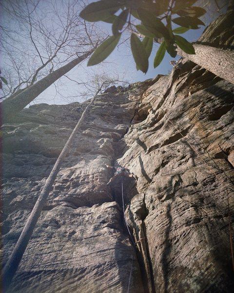 Rock Climbing Photo: Shock And Awe