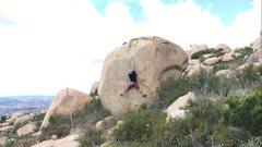 Rock Climbing Photo: Getting technical
