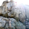 Top of the crux.