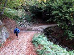 Rock Climbing Photo: Approach to Rocca Sbarua past Borgata Dairin