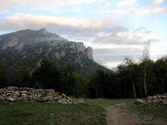 Rocca Sbarua from Colle Ciardonet