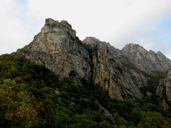 Rocca Sbarua from the rifugio