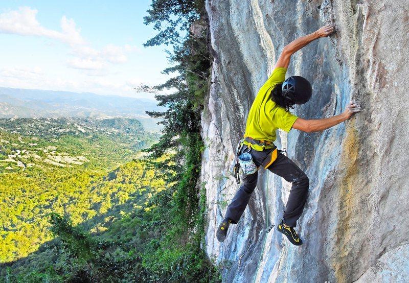 Rock Climbing Photo: Jorge Lassus on Tres Reyes Magos