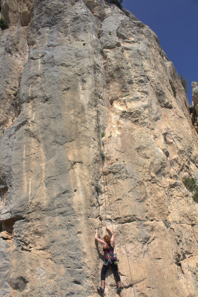 Rock Climbing Photo: The dihedral