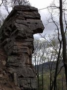 Rock Climbing Photo: Superman formation.