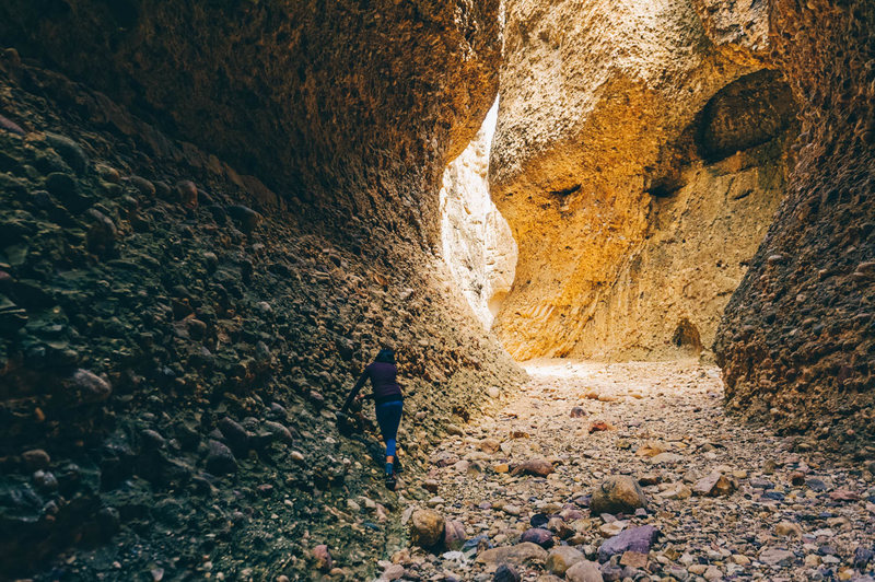 Inside Box Canyon