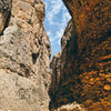 Inside Box Canyon