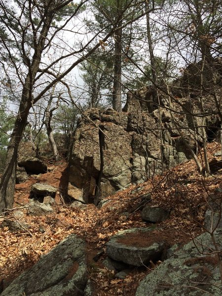 Rock Climbing Photo: Nature Valley 27 (N27).