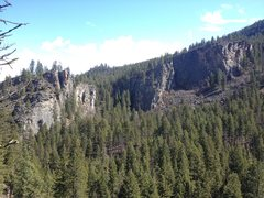 Rock Climbing Photo: Cougar Canyon. Awesome place to climb, lot of pote...
