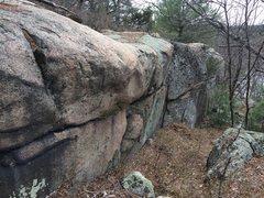 Rock Climbing Photo: The Palisades - Northwest end.