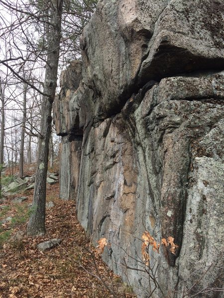 The Palisades - the southeast end.