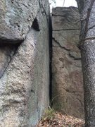 Rock Climbing Photo: Nature Valley 6 (N06) - look at that crack!
