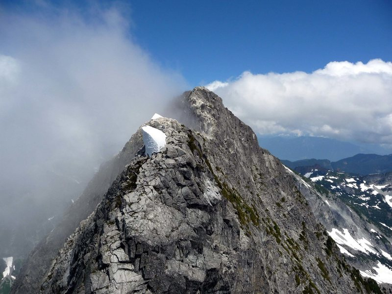 Rock Climbing Photo: V-C traverse