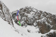 Rock Climbing Photo: Scottish Soup Kitchen- WI 3+, M5R