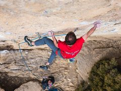 Rock Climbing Photo: The strong gyps