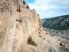 Rock Climbing Photo: I've seen lots of people whip here. What's...