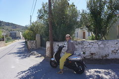 Rock Climbing Photo: The main reason you go to Kalymnos - SICK Scooters...
