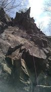 Rock Climbing Photo: This picture shows a good portion of the lower par...