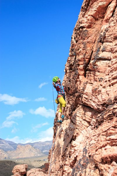 Unknown climber on The Three Kindoms (5.7)