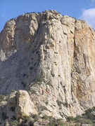 Rock Climbing Photo: Cherry Jam goes up to the obvious chimney (Cherry ...