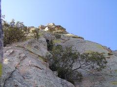 Rock Climbing Photo: Heading up to the Cherry Jam.