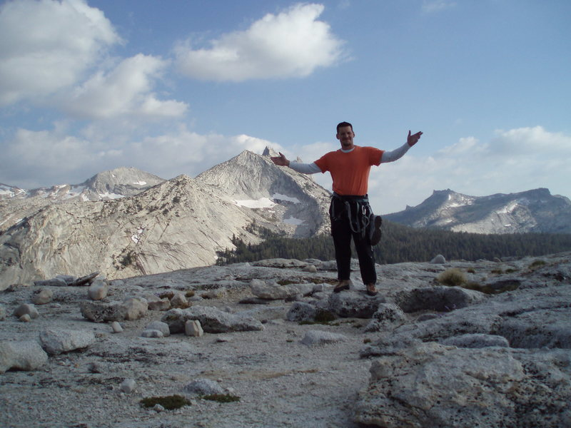 Joe on the Summit!