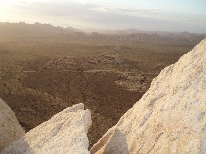 Rock Climbing Photo: From the summit