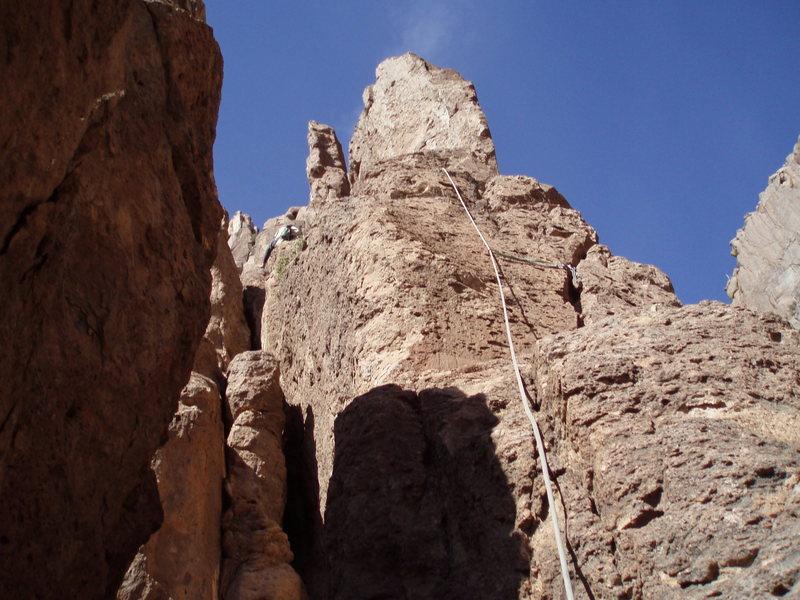 Rock Climbing Photo: Off we go!