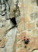 Rock Climbing Photo: TR on RCA