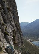 Rock Climbing Photo: Some nice technical routes are on the wall that is...