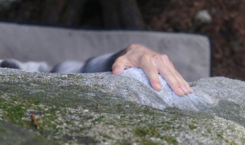 Rock Climbing Photo: Sloppy Poppy sloper