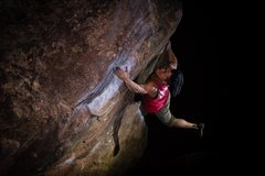Rock Climbing Photo: Very challenging for someone that's shorter, b...