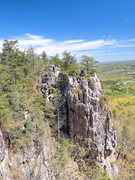 Rock Climbing Photo: View as seen from the top of main trail area.