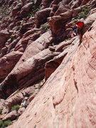 Rock Climbing Photo: Climbers on Big Bad Wolf - April 13, 2017