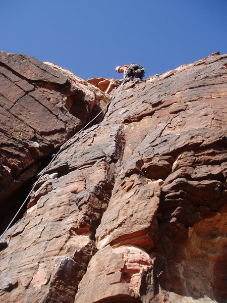 Rock Climbing Photo: Joanne Urioste on P1