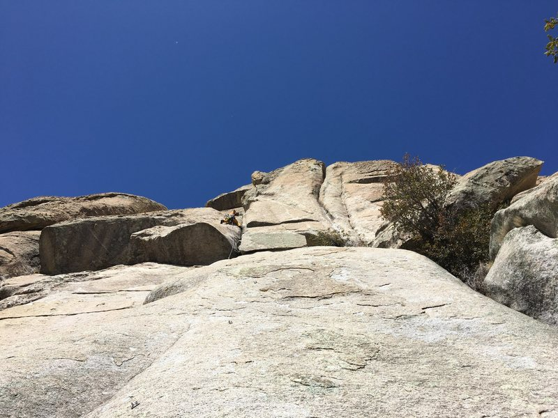 Rock Climbing Photo: center route