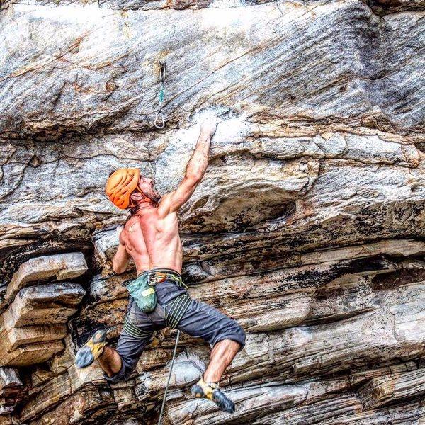 Apollo Reed Dyno, Climber Michael Mosure