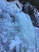 Rock Climbing Photo: Ice Slot