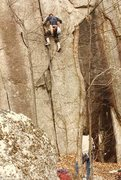 Rock Climbing Photo: Leslie and Claire Newman at the start of Strawberr...