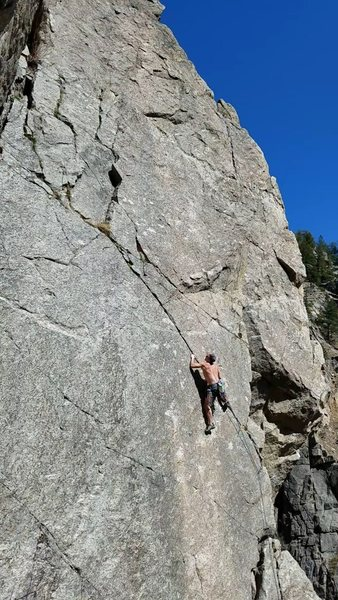 Rock Climbing Photo: Fun climbing, worth a lap!
