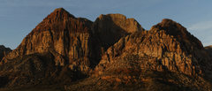 Rock Climbing Photo: Rainbow Mountain at sunrise
