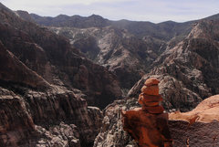 Rock Climbing Photo: On the summit of the Mescalito