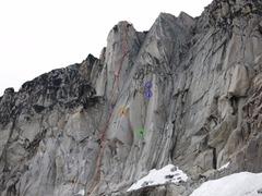 Rock Climbing Photo: Paddle Flake topo