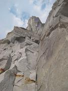 Rock Climbing Photo: Climbers on pitch 4 of Paddle Flake