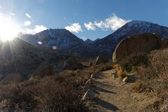 Rock Climbing Photo: Christmas Day 2015 in the Buttermilks